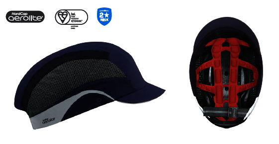 Casquettes anti heurts