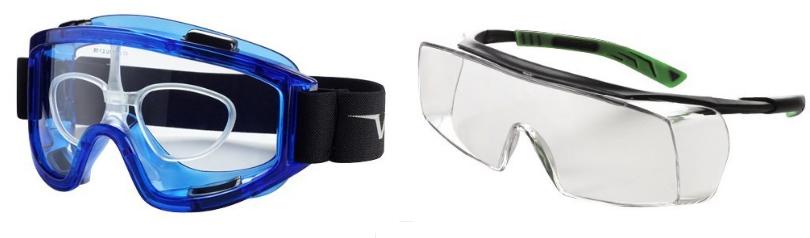 Protection covid avec lunettes de vue
