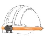 Systeme d illumination pour casque